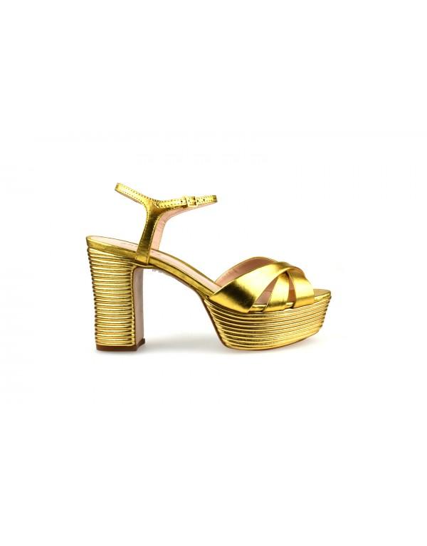 SANDALIA SCHUTZ GOLD